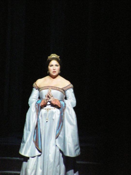 Anna Netrebko dans Anna Bolena au Staatsoper