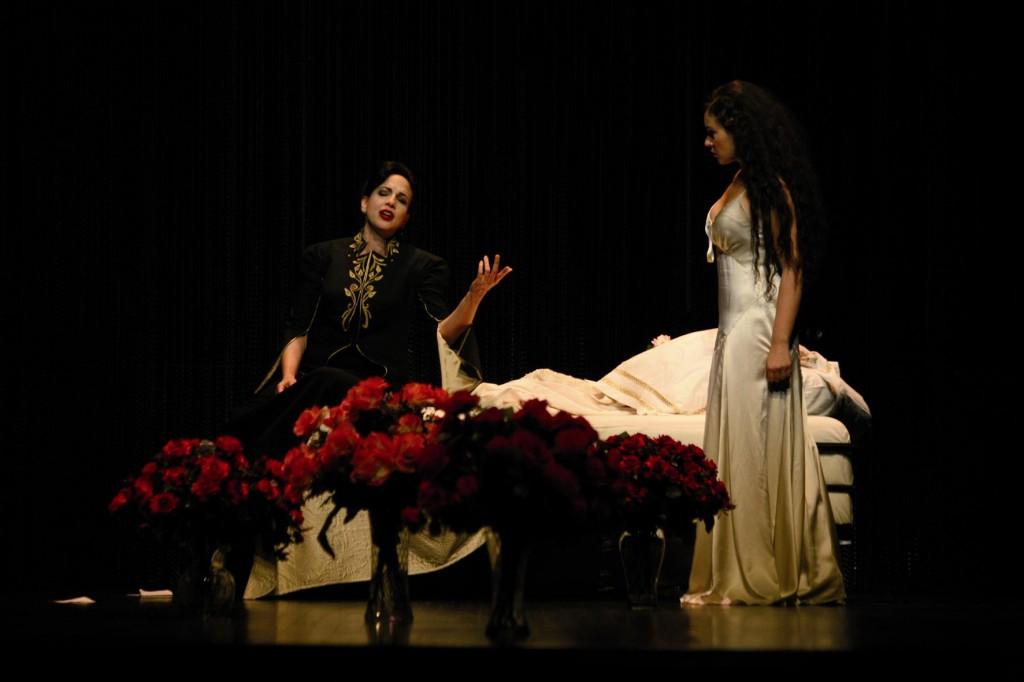 Sonya Yoncheva  (Poppea) dans Agrippina d'Haendel
