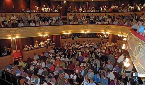 Salle de l'Opera de Rennes