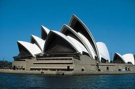 Sydney Opera House from the ocean