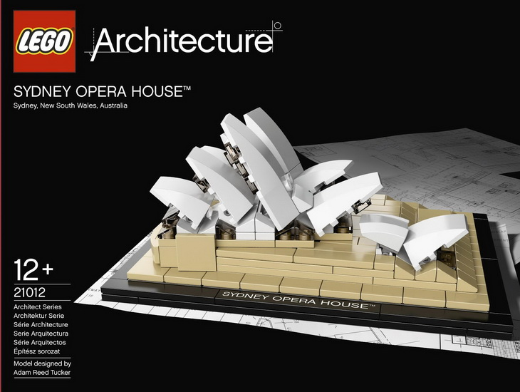 The Sydney Opera House is available as a lego kit