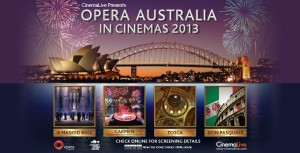 opera in cinema in Australia
