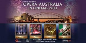 opera in cinema in Australia