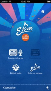 e-jam une application de music community sur iPhone