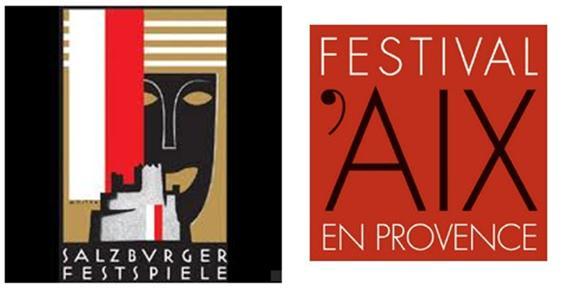 Salzburg and Aix-en-Provence festivals