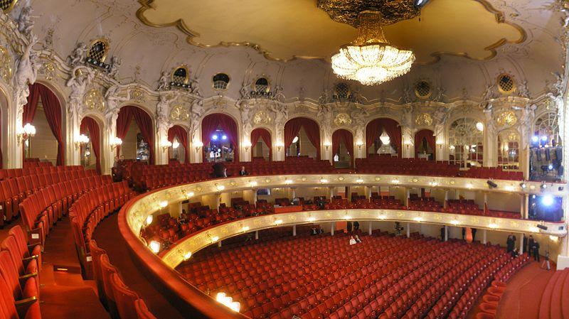 Komische Oper main auditorium was revamped in 1986