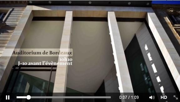 New Auditorium of Bordeaux Opera