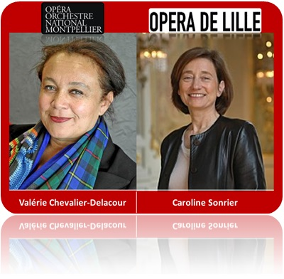 Caroline Sonrier & Valérie Chevalier-Delacour are the only women heading an opera house in France