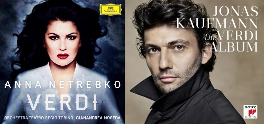 Verdi albums of Anna Netrebko and Jonas Kaufmann