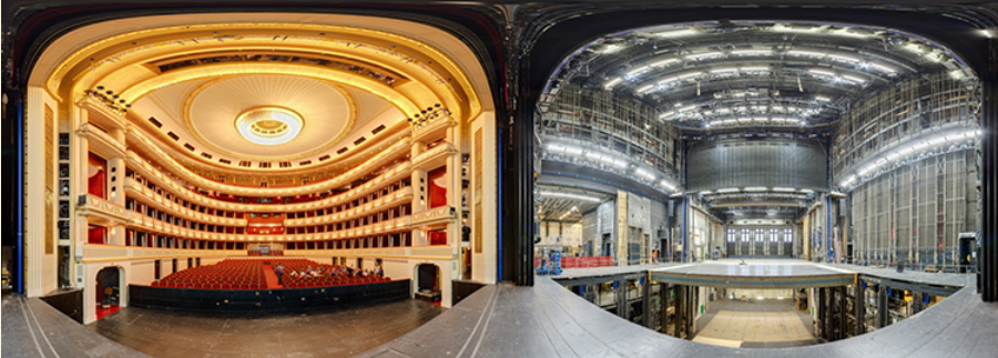 the new HD panoramic tour of Vienna Opera House