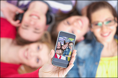 The young are particularly fond of digital technologies