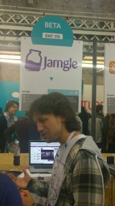 The Jamgle a music startup met in Websummit in Dublin