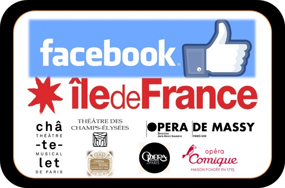 Facebook communities of Opera houses located in Paris Region