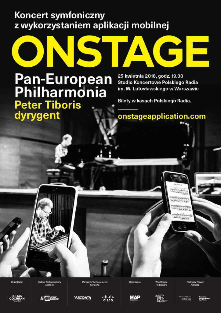 concert with the onstage application experience in April 2018