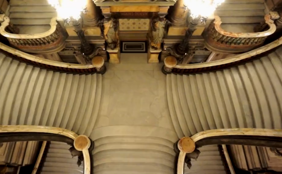 drones in Opera Garnier
