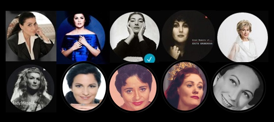 Some of my favorite opera divas
