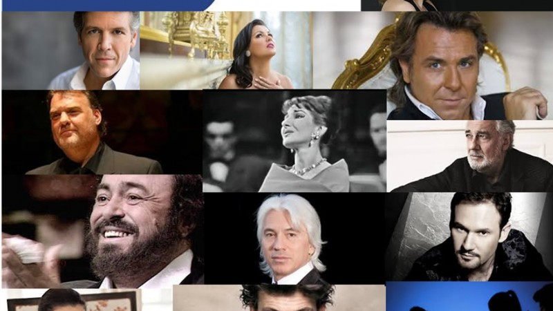 More and more opera singers on Facebook